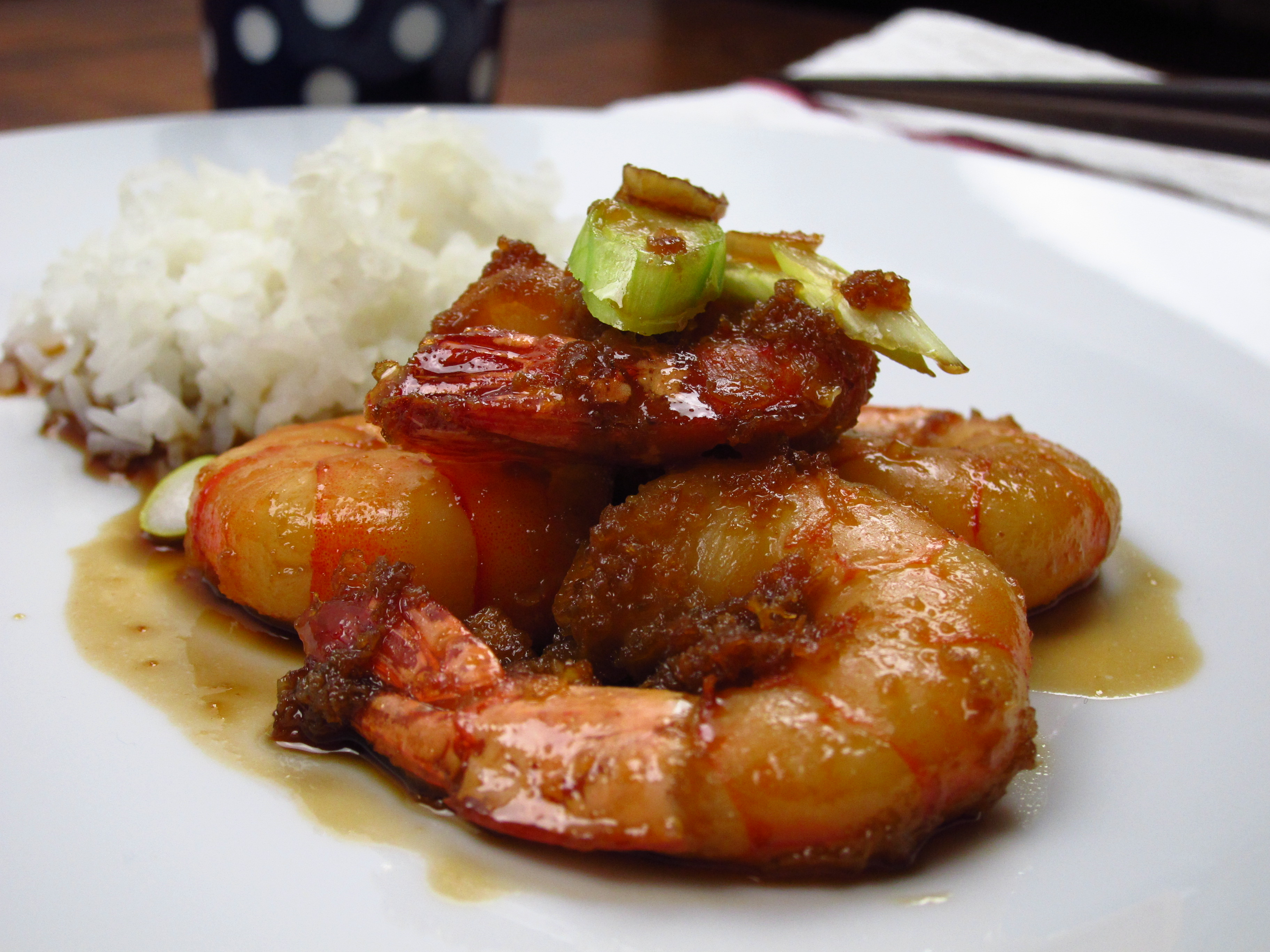 29.Blog_Crispy tiger prawns with honey and garlic sauce is a new favourite