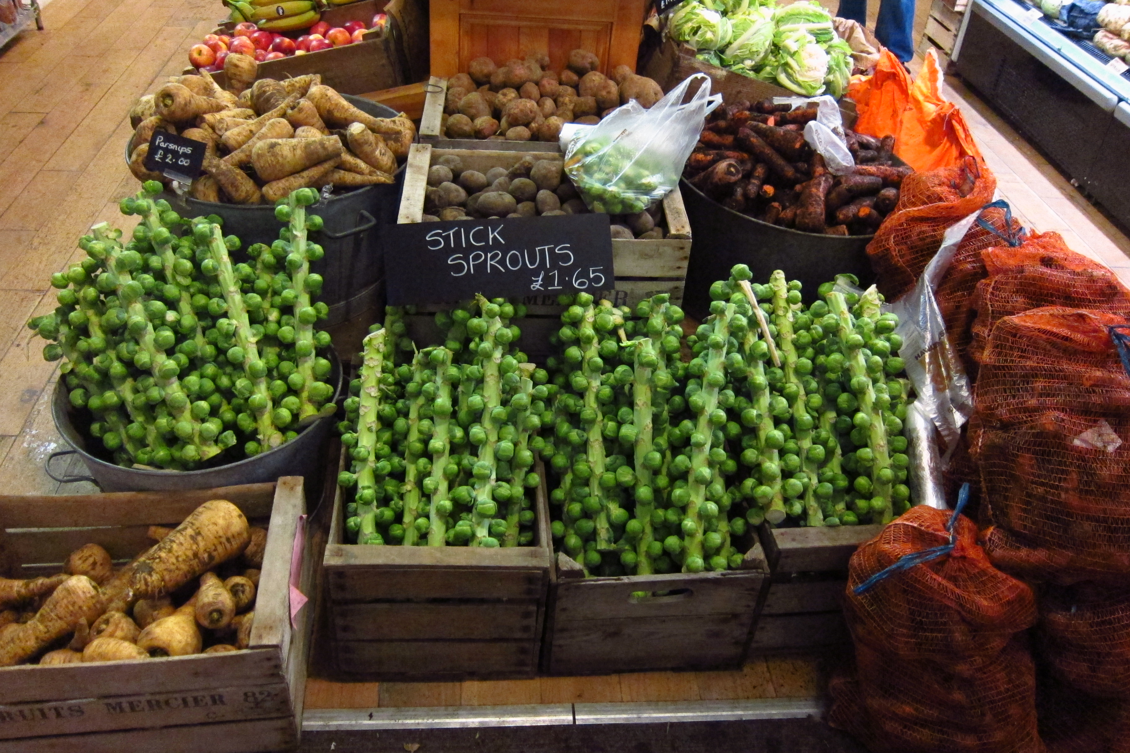 30.Blog_Hawarden Estate Farm Shop and the romantic side of chutney_Brussels Sprouts