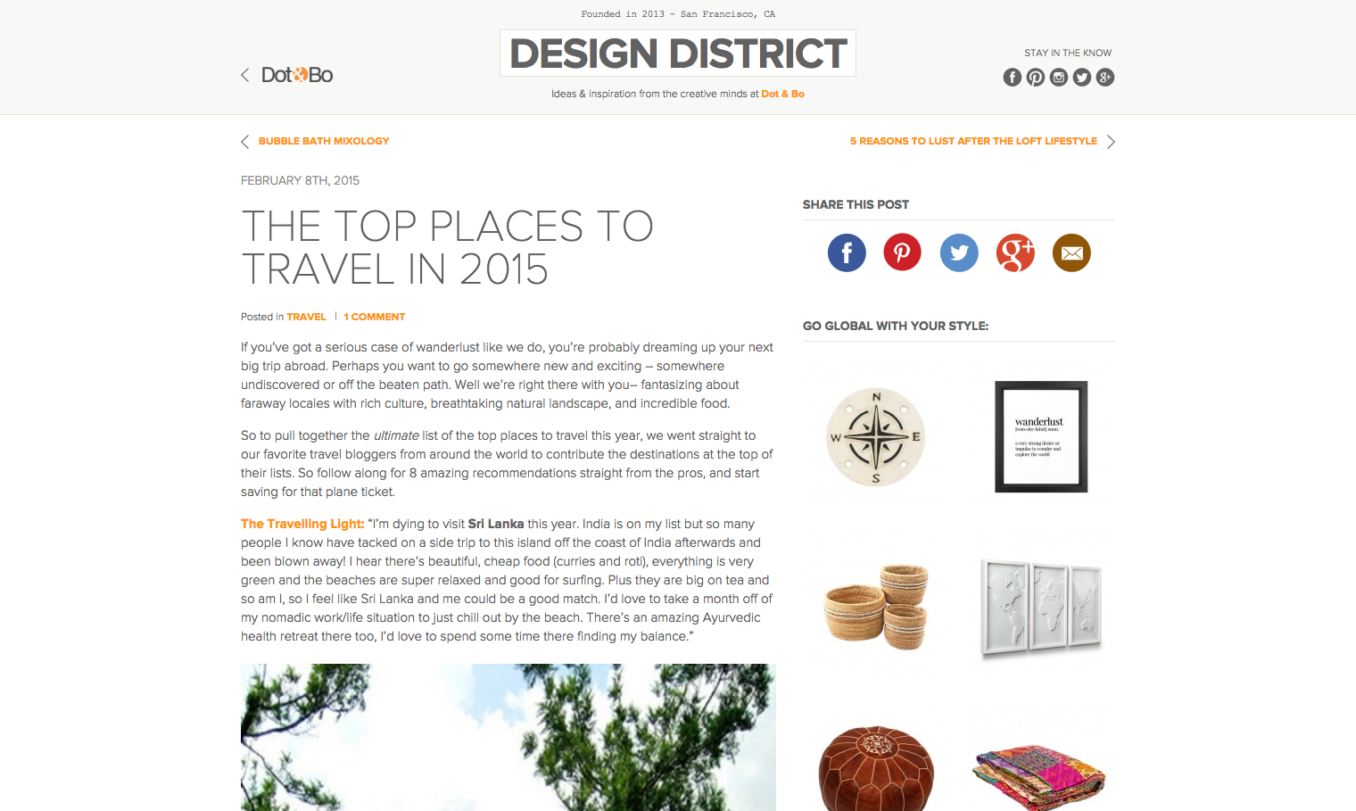 February 2015_Design District_Melting Butter