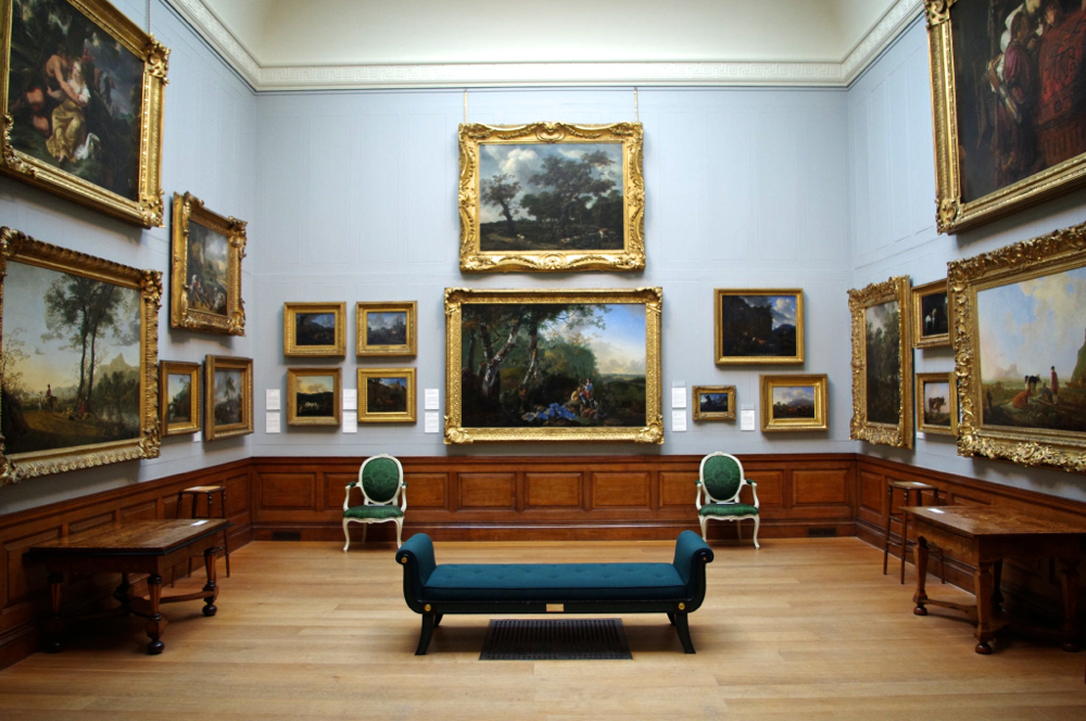 Art gallery find dulwich picture gallery london melting for Minimal art gallery london
