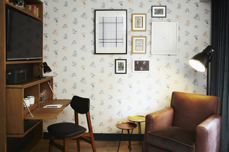 London design hotel find the hoxton hotel holborn for Design hotels london